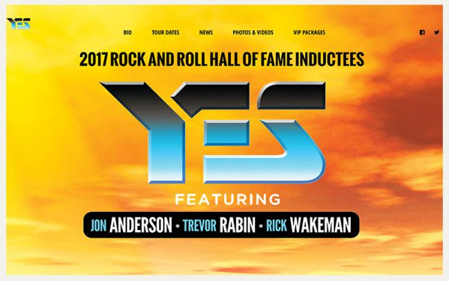 YES featuring ARW Website